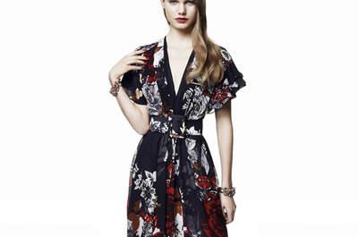 Pour être une invitée canon en 2016, misez sur une robe de soirée à motifs