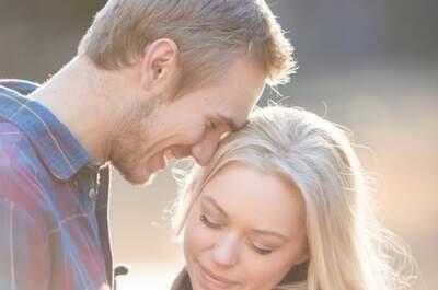 Een reis vol liefde: Een fotoshoot van een prachtig koppel op reis voor de bruiloft.