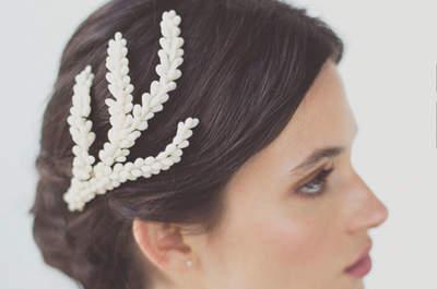 Ślubne ozdoby na włosy są jeszcze bardziej wyjątkowe. Odkryj je!