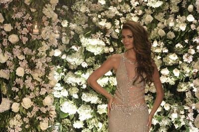 Descubre hasta el último detalle de los vestidos de gala de la pasarela de Miss Perú 2015