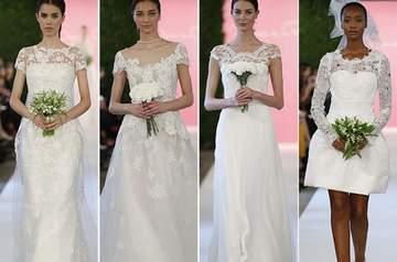 Oscar de la Renta 2015  la sposa più glamour dalla New York Bridal Week d753ecc7c1f9