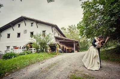 Los 16 mejores lugares para celebrar tu boda en el País Vasco