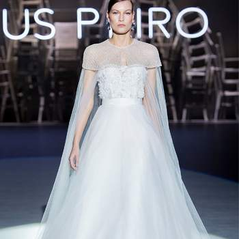 Jesús Peiró. Barcelona Bridal Fashion Week.