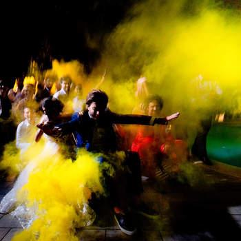 Flash Men Foto: La festa finale, dove davvero tutti si lanciano in pista... il resto è puro divertimento!