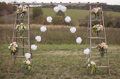 Los más lindos altares de boda para una ceremonia religiosa