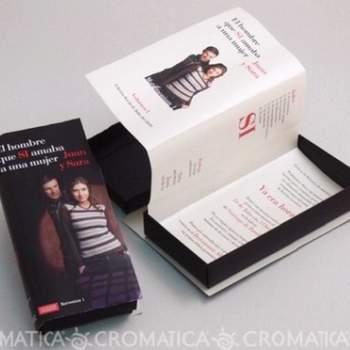 Invitaciones originales en caja.   Foto: Organiza Invitación Original.