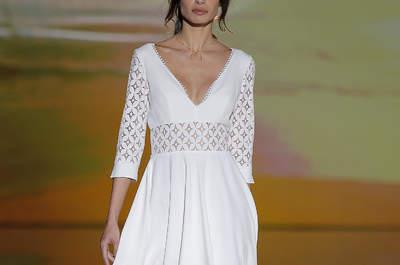Vestidos de novia cortos 2018: Atrévete a lucir diferente