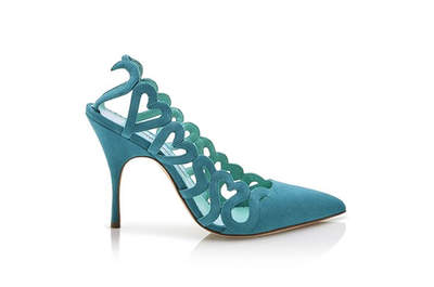Sapatos de noiva Manolo Blahnik 2017. Modelos lindos e exclusivos!
