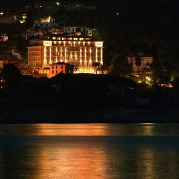 Il Grand Hotel Bristol visto dal mare
