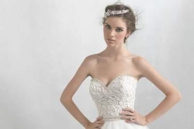 La colección de Madison James: Un toque de lujo exquisito para novias en hermosos diseños