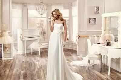 40 vestidos de noiva com decote coração para 2016: românticos e sensuais!