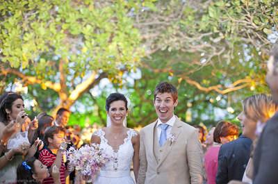 Casamento Rhebeka e Grippa: amor com direito a foto premiada em Porto de Galinhas