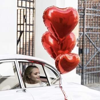 Ballon cœur rouge - The Wedding Shop !