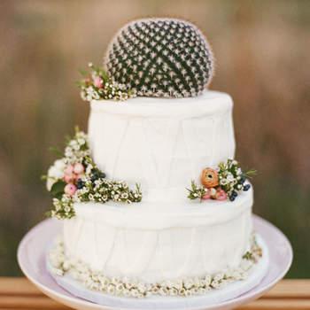 Inspiração para bolos de casamento diferentes e originais | Créditos: Aly Carroll Photography