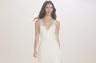 Carolina Herrera Wedding Dresses 2017: Romantic and elegant designs