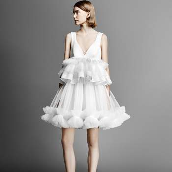 Tulle Patchwork Mini Viktor and Rolf