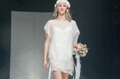 Robes de mariée Gwanni : une collection 2015 mystérieuse et romantique