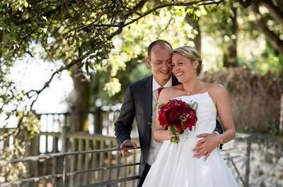 Béatrice et Guervan : un mariage en rouge et blanc sous le soleil de Royan