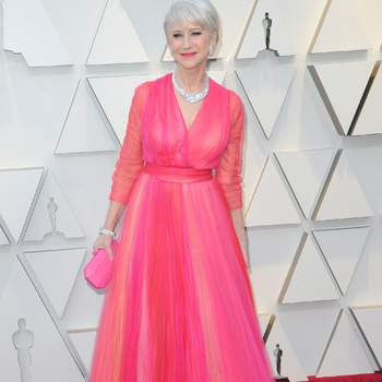 Helen Mirren vestida de Schiaparelli / Cordon Press