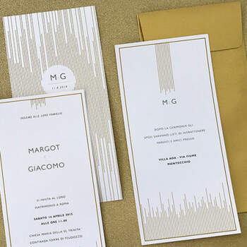 Invitaciones de Oro- Compra en The Wedding Shop