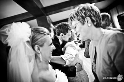 Podziękowania dla gości za ich obecność i prezenty ślubne
