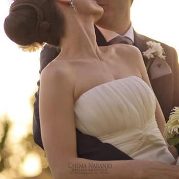 Boutonnière du marié, comme une sorte de petit bouquet. Photo : Chema Naranjo
