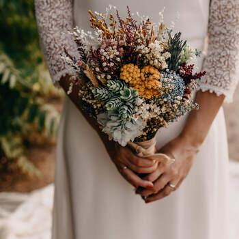 Brautstrauß: Flores en el Columpio