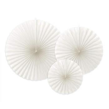 Rosetones decorativos blancos 3 unidades- Compra en The Wedding Shop