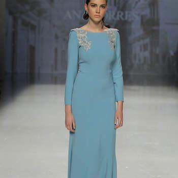 Ana Torres. Credits- Barcelona Bridal Fashion Week
