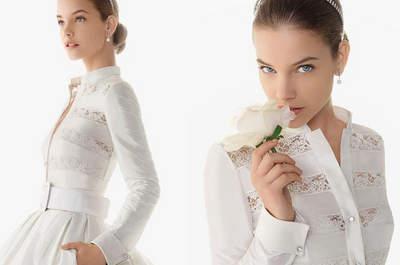 Vestidos y accesorios para novias que se casan en invierno