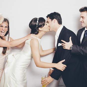 Les mariés et leur témoins - Crédits photos: Sweet Little Photographs