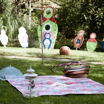 Las seis hectáreas de esta finca en Valdemorillo, Madrid, la hacen idónea para una celebración con niños.