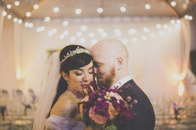Casamento Vintage de Nayara & Bernardo: olhares apaixonados, muita emoção e decoração inspiradora!