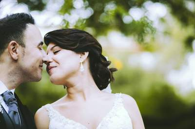 Media vida juntos viviendo el primer amor: la boda de Mireia y Javi