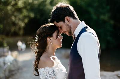 Camille et Karl : un sublime mariage champêtre au bord d'un étang dans l'Eure
