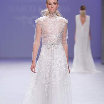 Marco&María | Credits: Valmont Barcelona Bridal Fashion Week