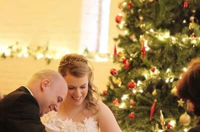 #MartesDeBodas: Todo lo que debes saber sobre las bodas en Navidad