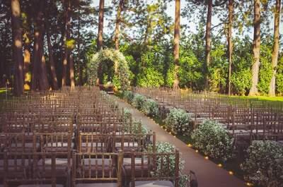 Tudo o que você precisa saber para fazer um casamento no campo dos sonhos!