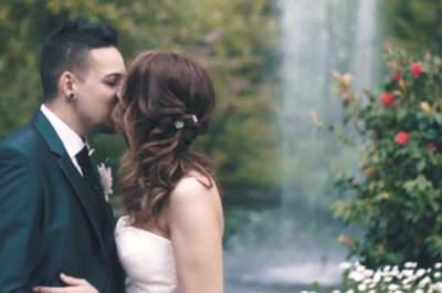 Magia, ilusión y felicidad: la boda de Alba y Enric