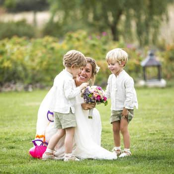 Niños y abuelos: 50 fotos dedicadas a los invitados más especiales de las bodas