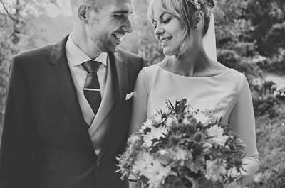 Amor a primera vista: la boda de Marta y Pedro