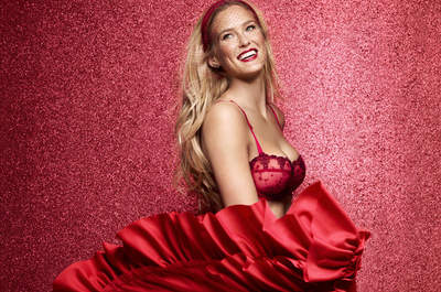 Festeja Navidad y Año Nuevo con lencería de novia femenina