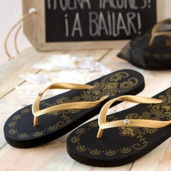 Sandalias doradas para bodas tamaño m- Compra en The Wedding Shop