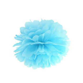 Pompones Azul Claro- Compra en The Wedding Shop
