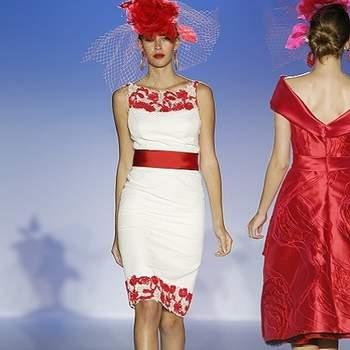 As noivas de Patricia Avendaño 2013 usam vestidos imaculadamente brancos, ricos em sobreposições esvoaçantes; as suas convidadas vestem-sa da cor e da luz características do sul de Espanha.