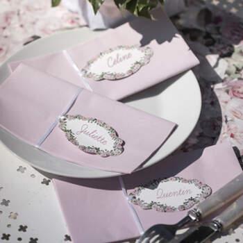 Marcasitio Motivo Bucólico 6 Unidades- Compra en The Wedding Shop