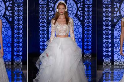 Reem Acra colección bridal otoño 2016: un verdadero toque mágico