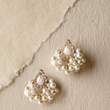 Babette Earrings. Credits- Bhldn