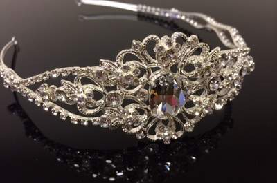 Fairytale tiaras for a princess bride