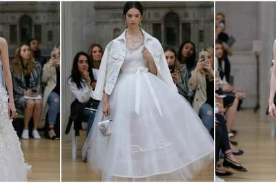 Vestidos de novia Oscar de la Renta 2018: ¡Delicadeza y elegancia!